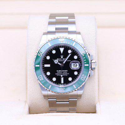 FSOT: Rolex Submariner Date 41 126610LV Green Bezel – 2021 Box & Papers