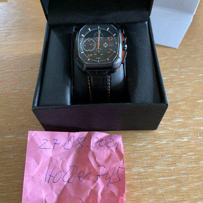 LIV Rebel AC Automatic Chronograph Black Dial Limited Edition Sellita SW500