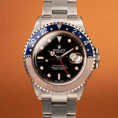 FS: 2001 Rolex GMT-Master II 16710 with Papers