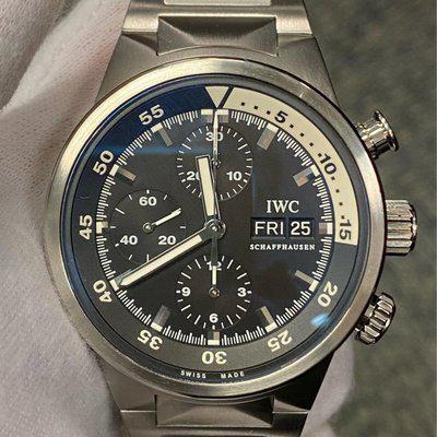 FS:IWC Aquatimer Chronograph Stainless Steel Black Dial IW371928