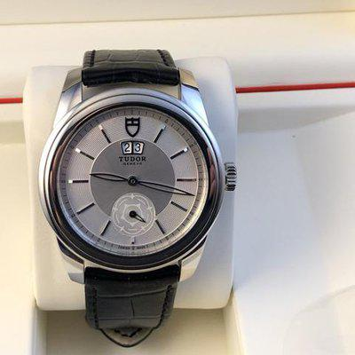 FS: Excellent Tudor Glamour Double Date M57000 Silver Dial, Boxes and Papers. Price Reduction