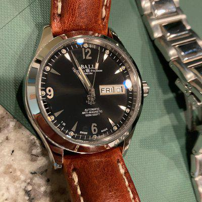 [WTS] Ball Ohio Engineer 2 - Box only with leather padded strap