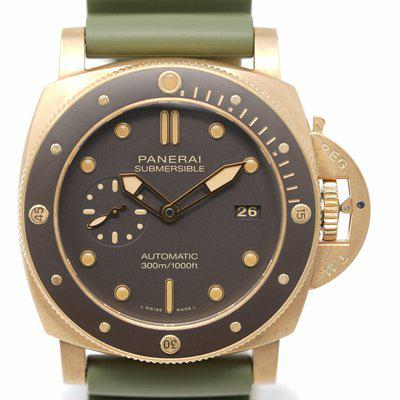 FS: Pre-Owned Panerai Submersible Bronzo PAM00968 V Series