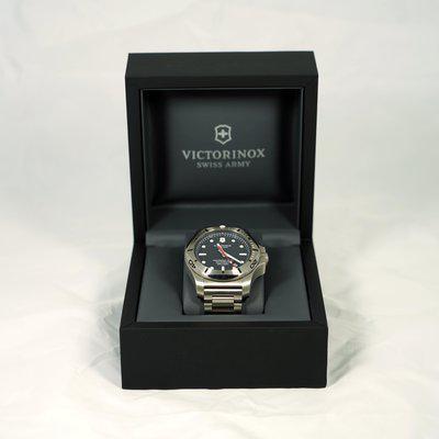 Victorinox Inox Diver SS Black Dial on Bracelet