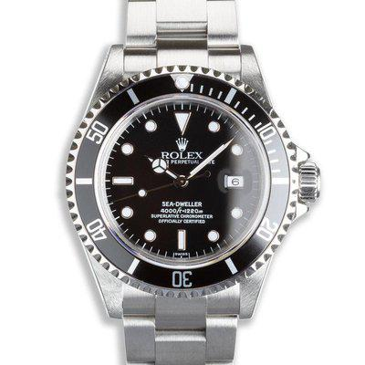 1999 Rolex Sea-Dweller 16600 with Box & Papers  Serial #:A,3XX,XXX