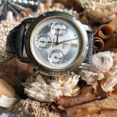 FS: Gevril Generation One Stainless & Gold Chronograph...