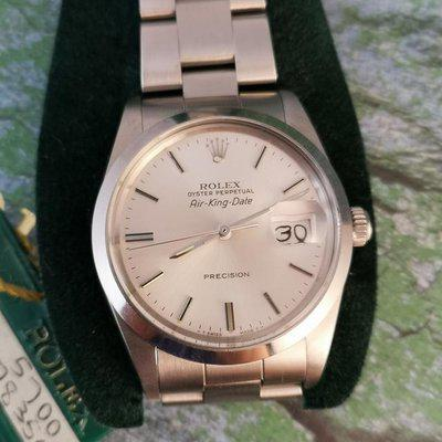 Rolex Oyster Perpetual Air King Date ref 5700 NOS