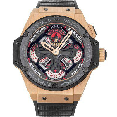 Hublot King Power Unico 771.OM.1170.RX World Time Box Papers