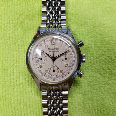 Mint NOS 1960s Wittnauer BoR for 242T 235T 7004 chronograph
