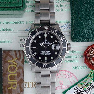 Rolex Submariner Date | 16610 SWISS Only Dial - Full Set