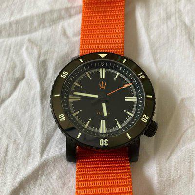 Maratac SR-35 steel coated Dive watch - perfect condition