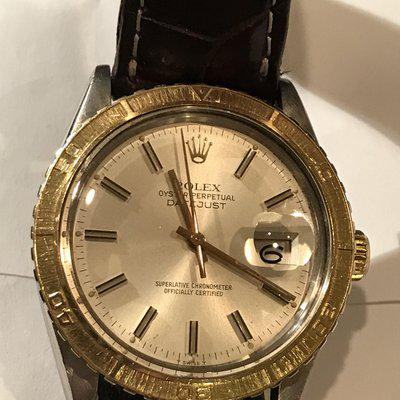 FS: ROLEX 2 tone Turn-O-Graph 16253 36MM