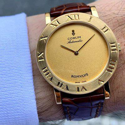FS: Corum Romulus Automatic 18ct Yellow Gold 35mm