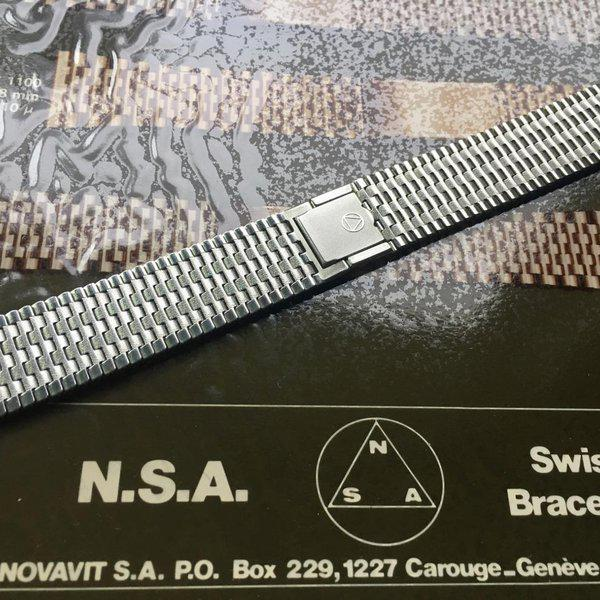 Novavit Swiss NSA 1960s bracelets, Long & XL ones to order 33