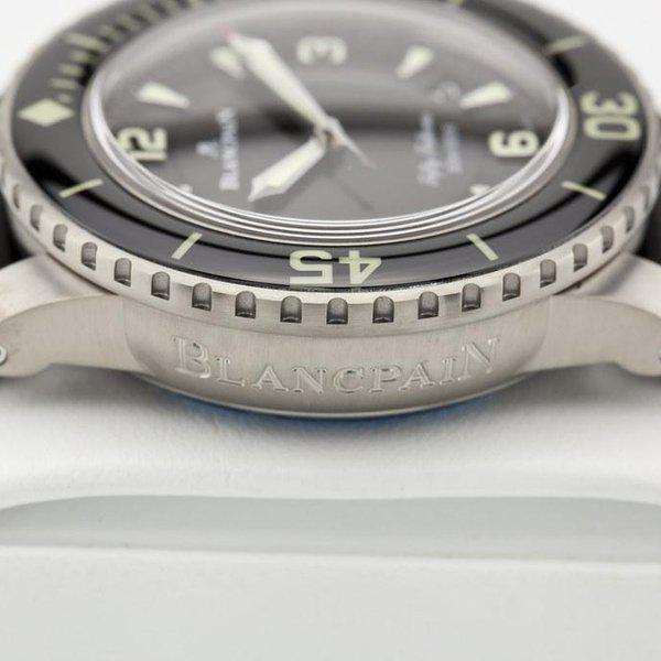fsot - Blancpain Fifty Fathoms - Black Titanium - 45mm 5015-12B30-B52 ( new / 2020 ) 7