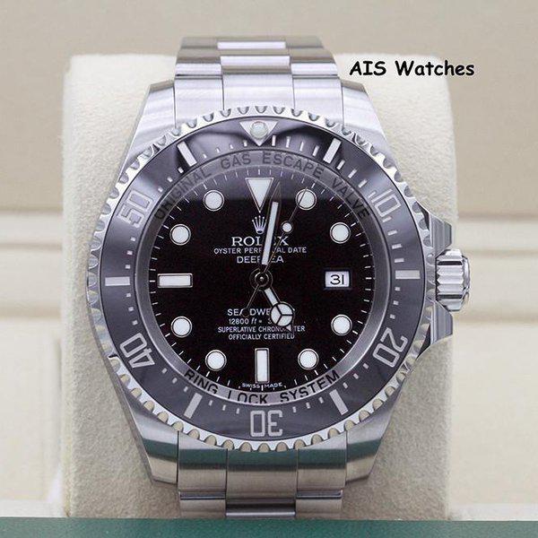 FSOT: Rolex 116660 Deep Sea SeaDweller DSSD Black Dial Box & Papers 1