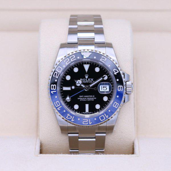 FSOT: Rolex GMT Master II 116710BLNR Stainless - Like NOS - Box & Papers 1