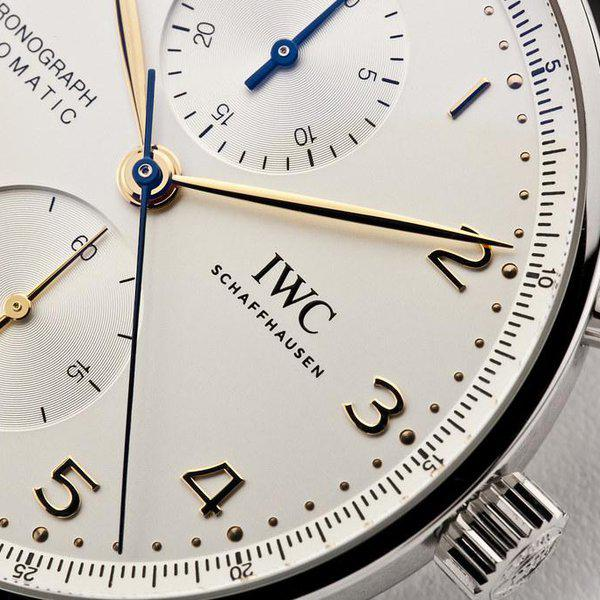 fsot - IWC Portuguese Chronograph - NEW In-House Movement - IW371604 ( new / 2020 ) 5