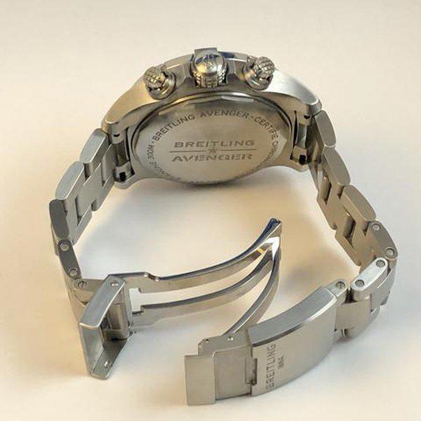 FS: LNIB Breitling A13385 Avenger  II Chonograph 43, Steel, Bracelet, Black Dial, Complete. 14