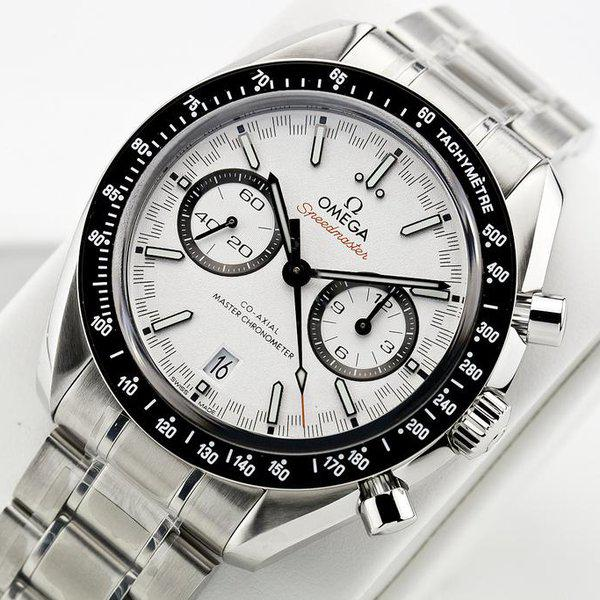 fsot - Omega Speedmaster - Racing Master Co-Axial 44.25mm - White Dial ( new / 2020 ) 6
