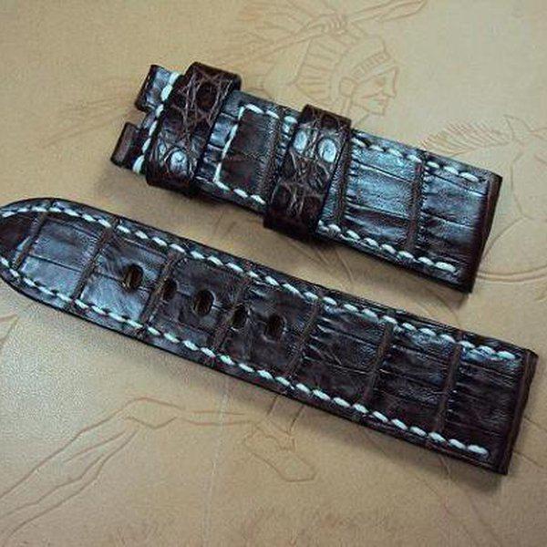 FS: Panerai custom straps A480~A494 include crocodile straps,olive green & dark gray straps. Cheergiant straps 9