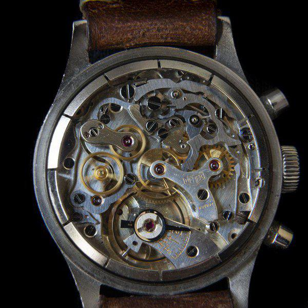 FS: Heuer 2406 chronograph from the 1940s with Landeron 13 movement 4