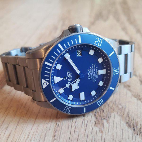 Tudor Pelagos Blue, AD purchased, 2 months old 2