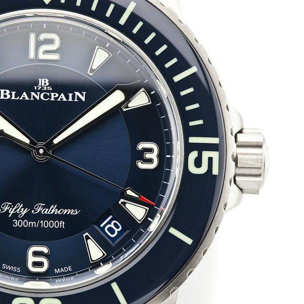 fsot - Blancpain Fifty Fathoms - Blue - Titanium 45mm - 5015-12B40-O52A (new / 2020) 4