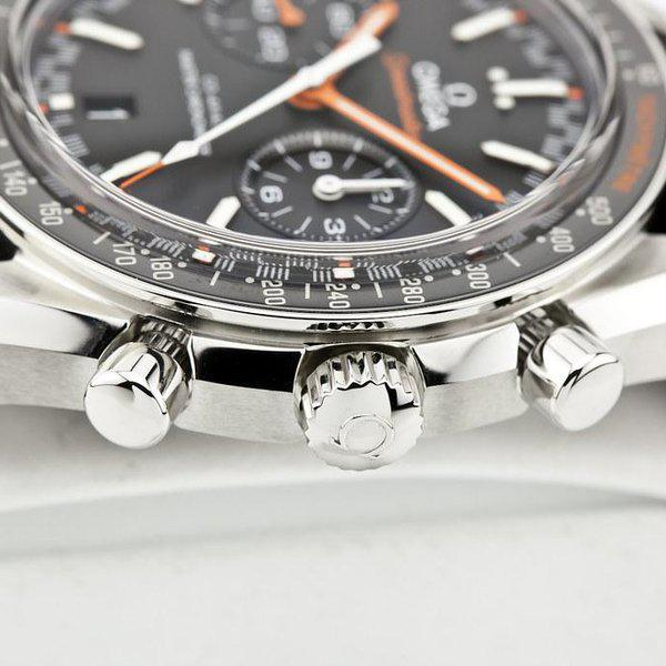 fsot - Omega Speedmaster - Racing Master Co-Axial 44.25mm - Orange ( new / 2020 ) 5