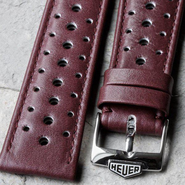Vintage racing bands as originally supplied on many Heuers 11