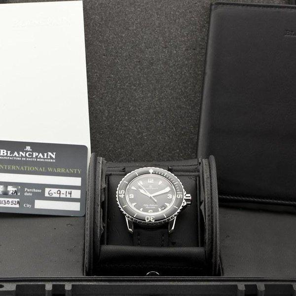 fsot - Blancpain Fifty Fathoms - Black - 45mm 5015-1130-52A ( complete ) 9