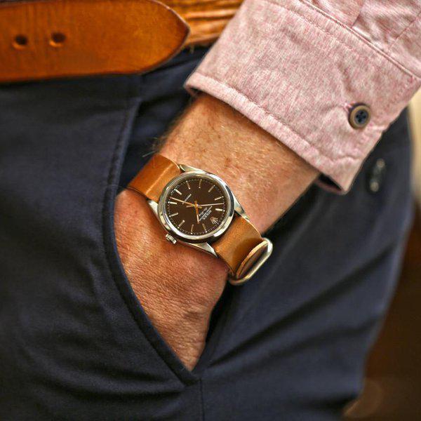 FS: Genuine Horween Shell Cordovan Watch Straps 3