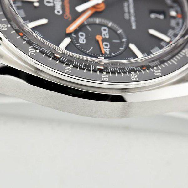fsot - Omega Speedmaster - Racing Master Co-Axial 44.25mm - Orange ( new / 2020 ) 6