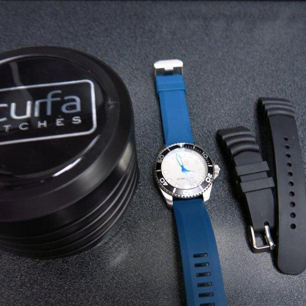 TRADED - Sold Out Scurfa D1 500m with Silver Dial Blue hands 10