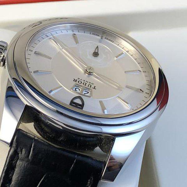 FS: Excellent Tudor Glamour Double Date M57000 Silver Dial, Boxes and Papers. Price Reduction 6