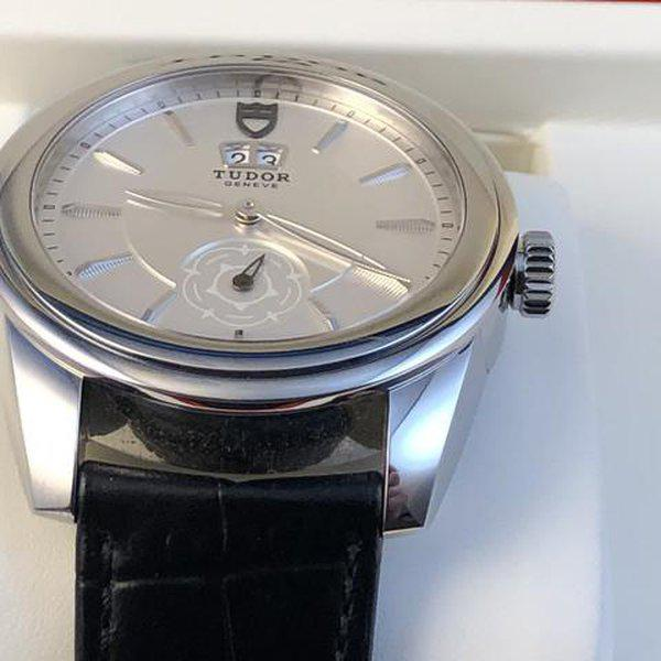 FS: Excellent Tudor Glamour Double Date M57000 Silver Dial, Boxes and Papers. Price Reduction 5