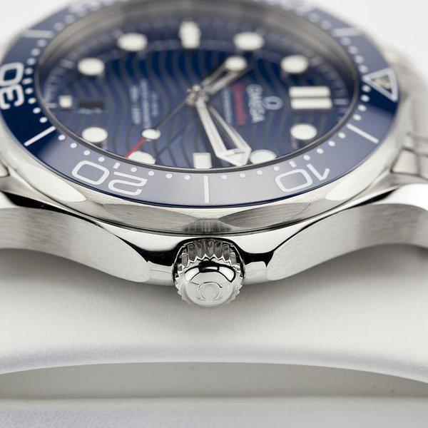 fsot - Omega Seamaster 300 - Blue - Wave Dial - 42mm - Master 8800 ( new / 2020 ) 9