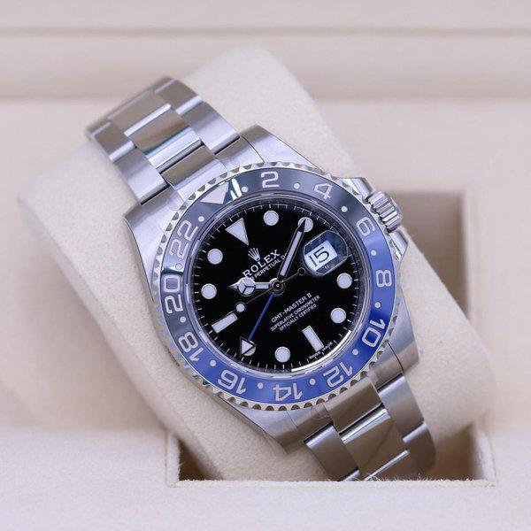 FSOT: Rolex GMT Master II 116710BLNR Stainless - Like NOS - Box & Papers 3