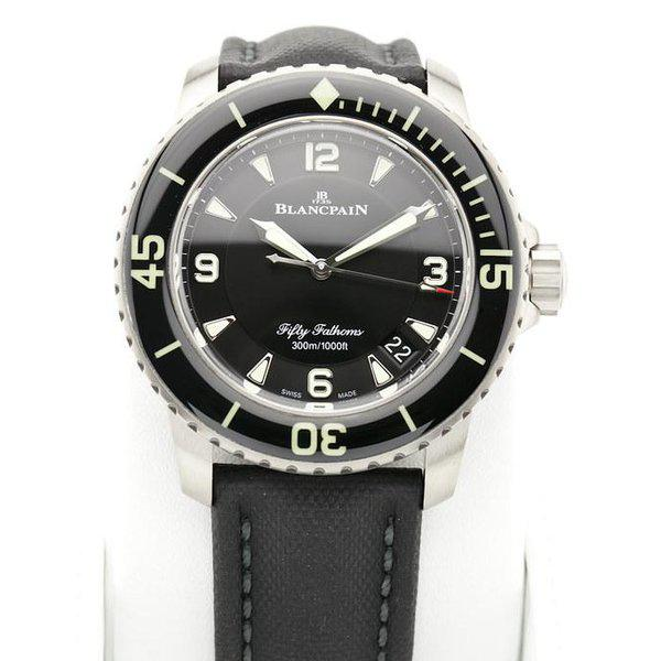 fsot - Blancpain Fifty Fathoms - Black Titanium - 45mm 5015-12B30-B52 ( new / 2020 ) 3