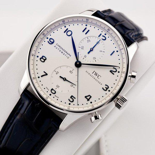 fsot - IWC Portuguese Chronograph - NEW In-House Movement - IW371605 ( new / 2020 ) 4