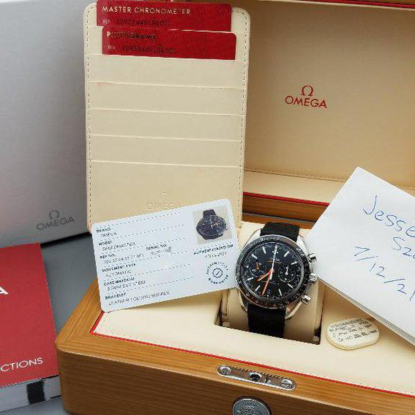 Omega Speedmaster Racing Co-axial Master Chronometer Chronograph 44.25mm  2