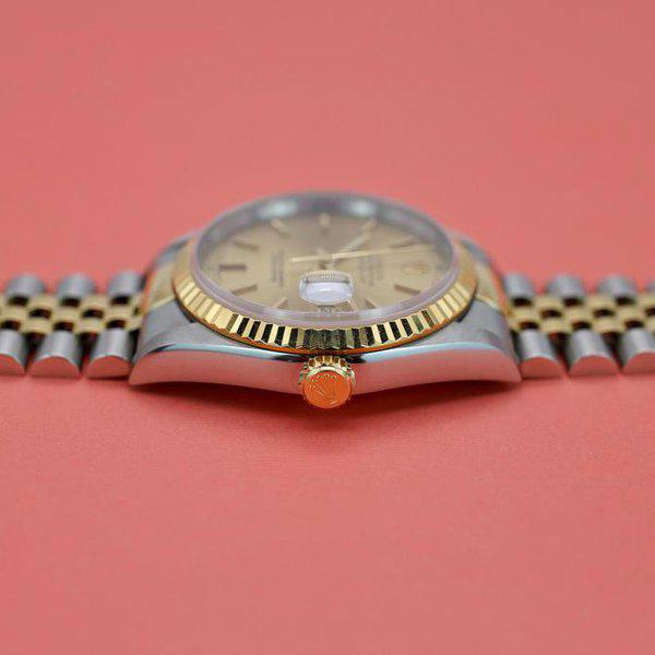 FS: 1995 Rolex Datejust Ref. 16233| Champagne Dial | Papers 12