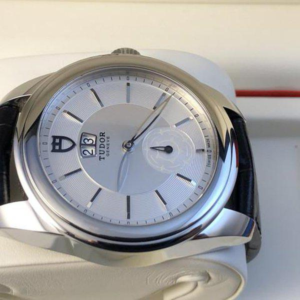 FS: Excellent Tudor Glamour Double Date M57000 Silver Dial, Boxes and Papers. Price Reduction 8