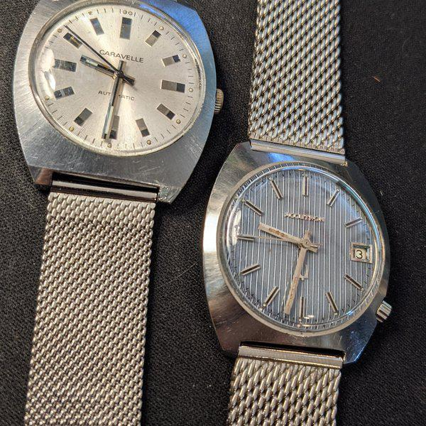 [WTS] Vintage Caravelle Automatic and Bulova 218 Accutron 1
