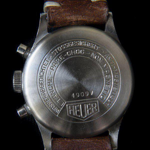 FS: Heuer 2406 chronograph from the 1940s with Landeron 13 movement 6