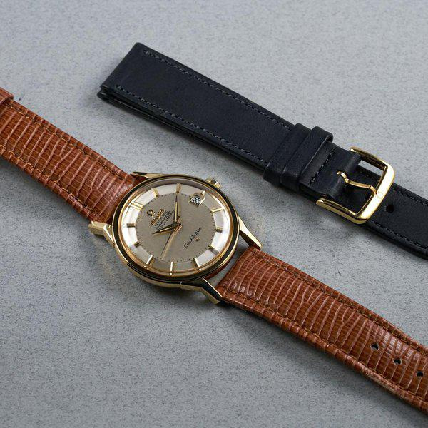 FS: 1960s YG Omega Constellation Ref: 168.005 with Silver Pie-Pan Dial 11