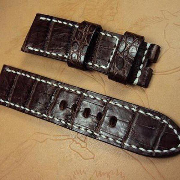 FS: Panerai custom straps A480~A494 include crocodile straps,olive green & dark gray straps. Cheergiant straps 10
