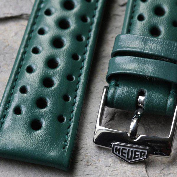 Vintage racing bands as originally supplied on many Heuers 10