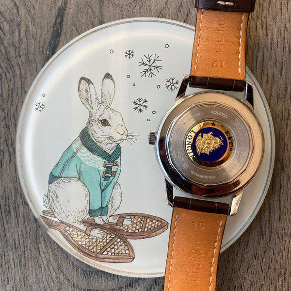 [WTS] Longines Flagship Heritage Clean as Snow 2