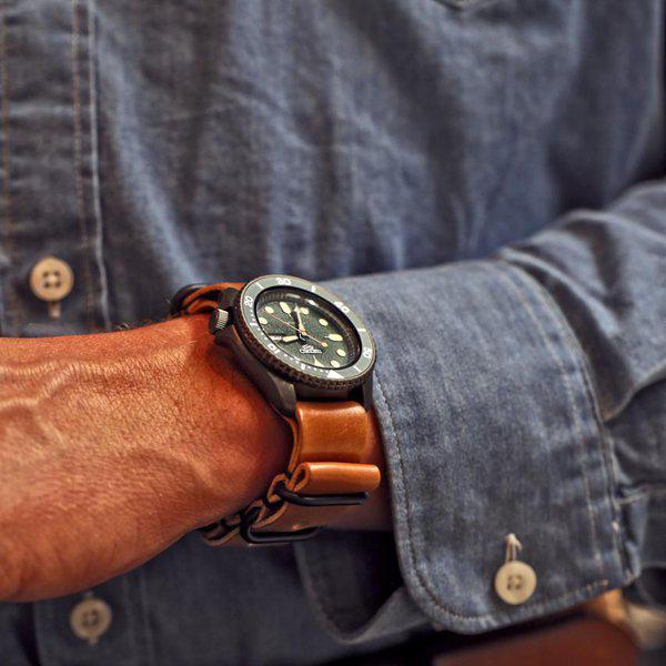 FS: Genuine Horween Shell Cordovan Watch Straps 4